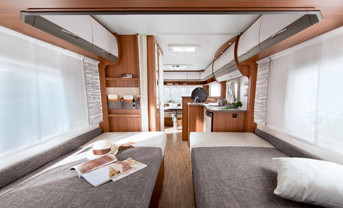 Matras voor caravan of motorhome of boot